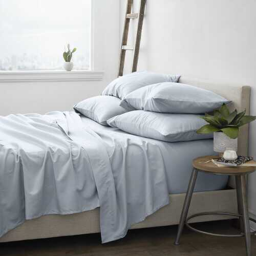 Case of [12] Home Collection Luxury Ultra SoftSolid Bed Sheet Set - 6 Piece