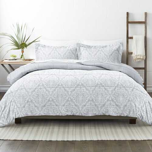 Case of [9] Home Collection Premium Down Alternative English Countryside Reversible Comforter Set