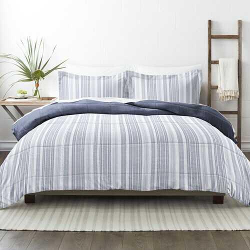 Case of [9] Home Collection Premium Down Alternative Farmhouse Dreams Reversible Comforter Set