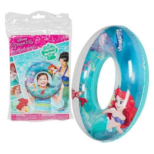 Case of [12] Disney's The Little Mermaid 3D Swim Ring
