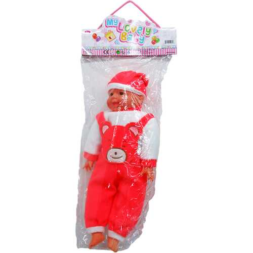 """Case of [12] 17"""" Soft Baby Doll - Assorted"""
