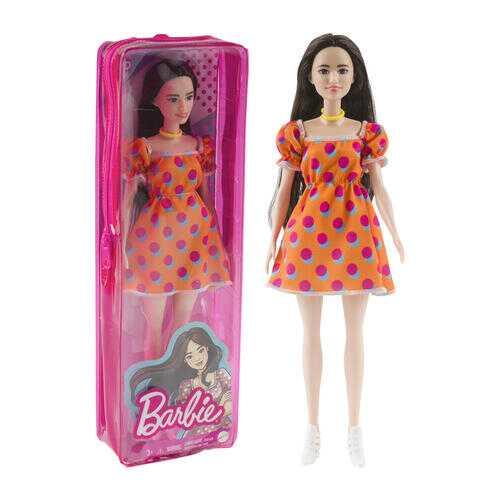 Case of [4] Barbie Fashonistas Dolls - Polka Dot Dress