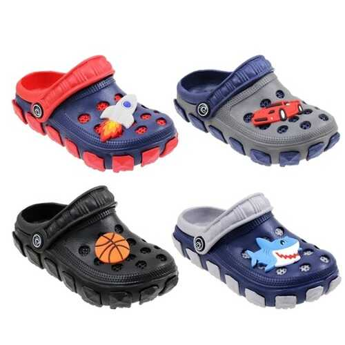 Case of [60] Boys Garden Shoes Cartoon