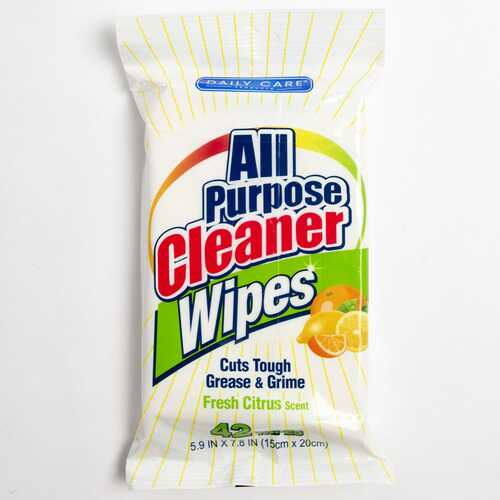 Case of [24] All Purpose Cleaner Wipes, 42 count