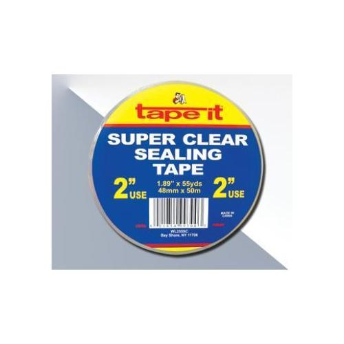 "Case of [36] Carton Sealing Tape - Clear - 1.89"" x 55 yards"