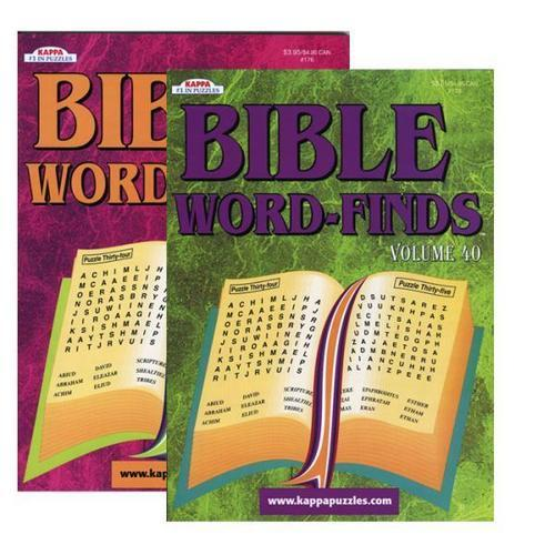 Case of [48] Kappa Bible Series Word Finds Puzzle Book