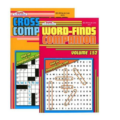 Case of [24] KAPPA Companion Series Puzzle Book - Digest Size