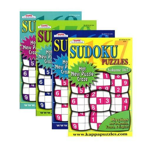 Case of [24] KAPPA Sudoku Puzzles Book - Digest Size