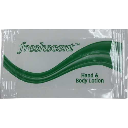 Case of [1000] Freshscent Hand and Body Lotion .25 oz