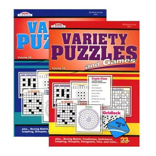 Case of [48] Kappa Variety Puzzles & Games Book