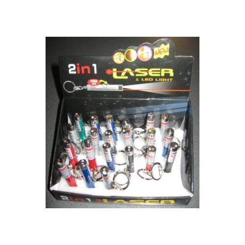 Case of [72] Laser Pointer And Flashlight Key Chain