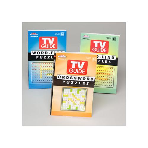 Case of [144] Puzzle Books - TV Guide