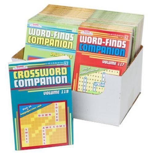 Case of [36] Companion Puzzle Books