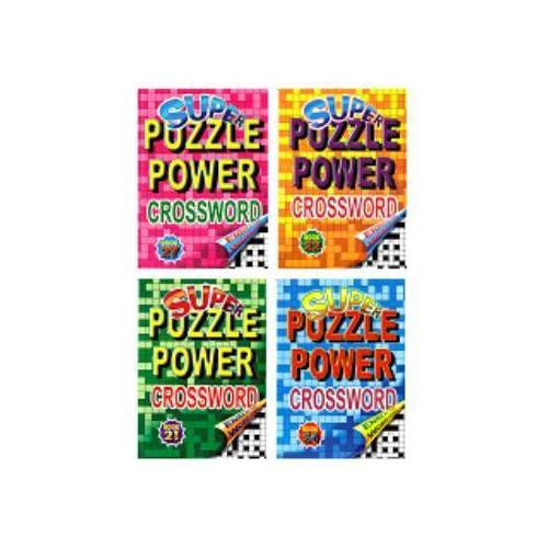 Case of [48] Super Puzzle Power Crossword