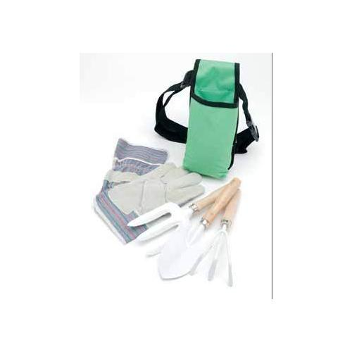 Case of [10] Ruff & Ready 5-Piece Garden Tool Set With Apron