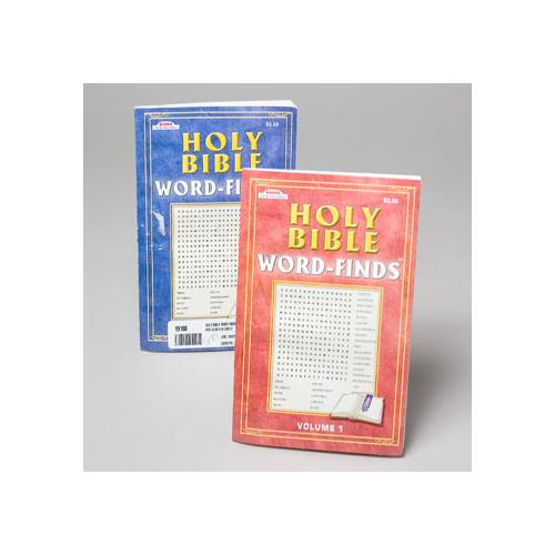 Case of [48] Holy Bible Word Find Books