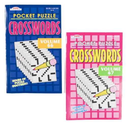 Case of [48] Pocket Puzzles Word-Finds and Crosswords