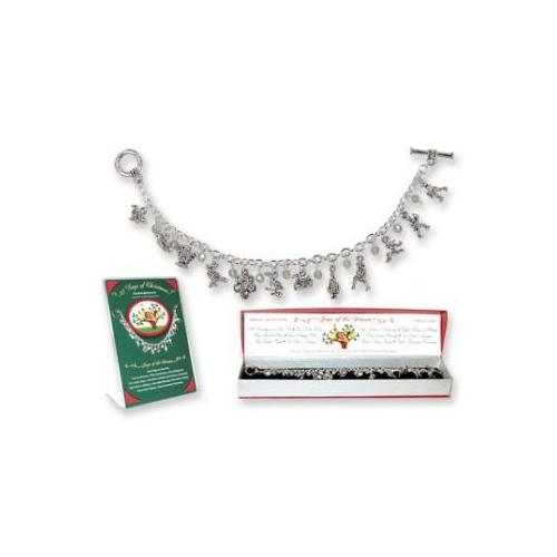 12 Days Of Christmas Bracelet W/Display