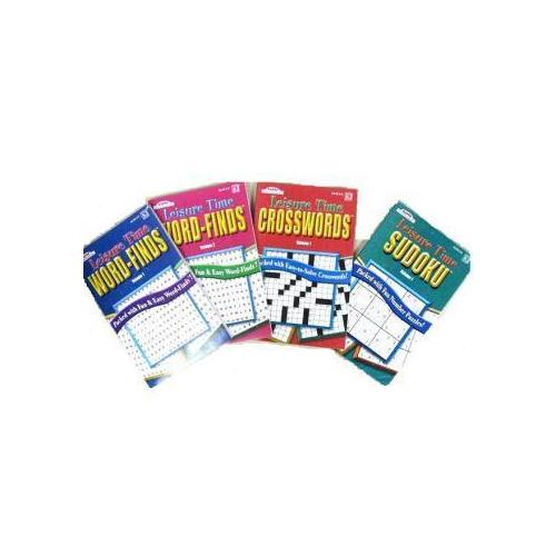 Case of [144] Leisure Time Puzzle Book With Floor Display