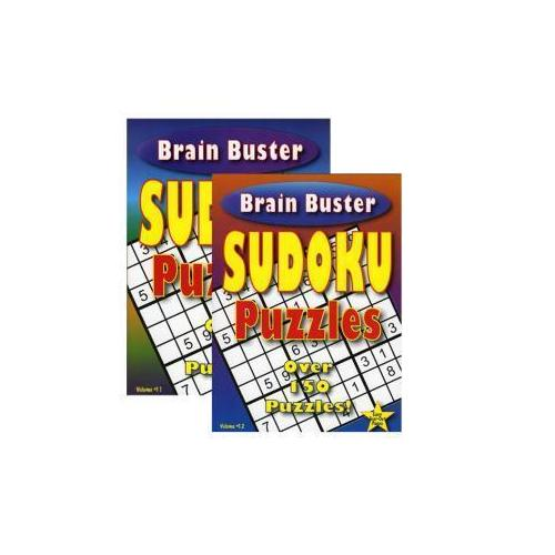 Case of [48] Brain Teaser Sudoku Puzzle Book