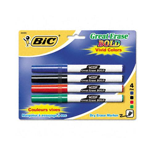 Case of [6] Great Erase Bold Pocket Style Dry Erase Markers