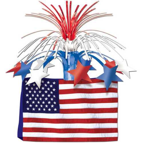 Case of [12] American Flag Centerpiece