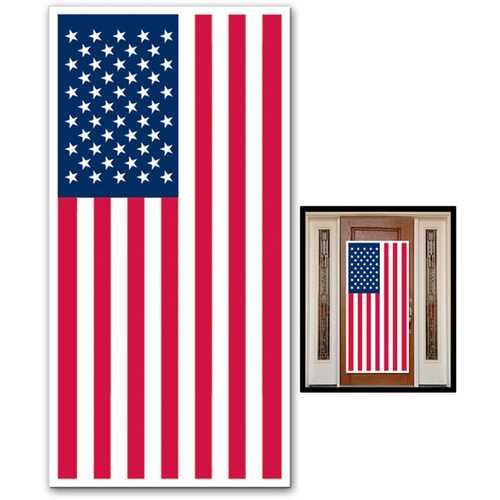 Case of [12] American Flag Door Cover