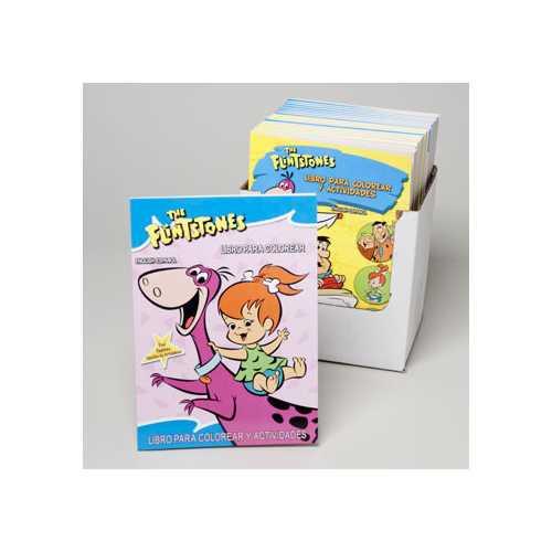 Case of [24] Flintstones Bilingual Coloring Book