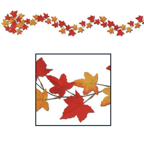 Case of [12] Autumn Leaf Garlands