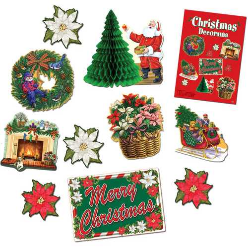Case of [12] Christmas Decorama