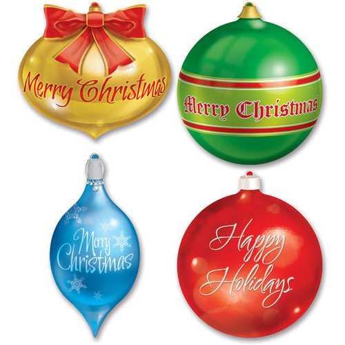 Case of [12] Christmas Ornament Cutouts