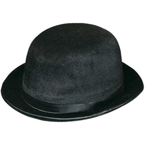 Case of [12] Black Velvet-Felt Derby