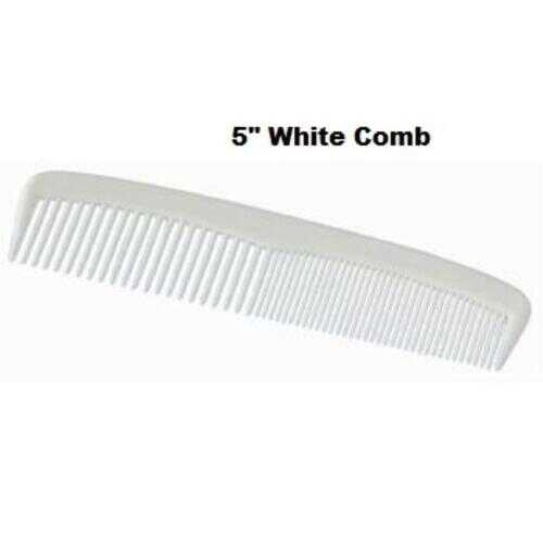 "Case of [720] Disposable White 5"" Plastic Comb"