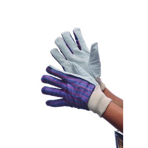Case of [120] Leather Palm Work & Gardending Gloves