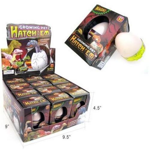 Case of [144] Hatch Em Eggs - Dinosaur