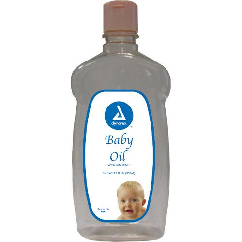 Case of [12] Baby Oil 12 oz.