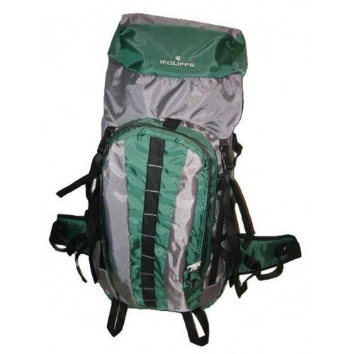 "Case of [10] Hiking Backpack w/Internal Frame, 25.5""x17.5""x6"", Green/Grey"