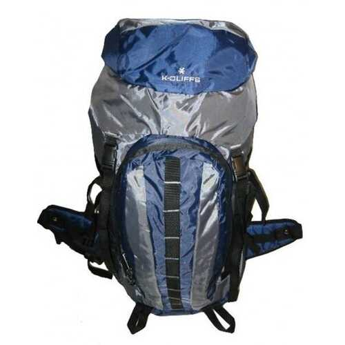"Case of [10] Hiking Backpack w/Internal Frame, 25.5""x17.5""x6"", Navy/Grey"