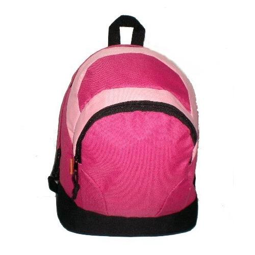 """Case of [50] 14"""" Classic Backpack - Hot Pink/Pink"""