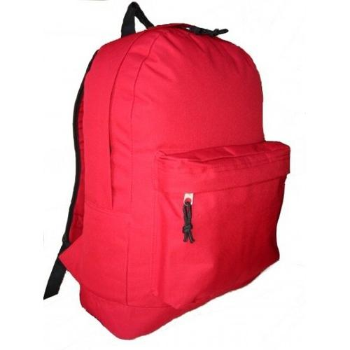 "Case of [30] 18"" Basic Backpack - Red"