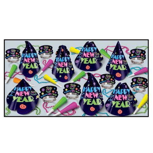 Case of [100] Neon Midnight Hat Assortment
