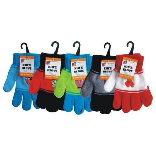 Case of [144] Kids' Gloves