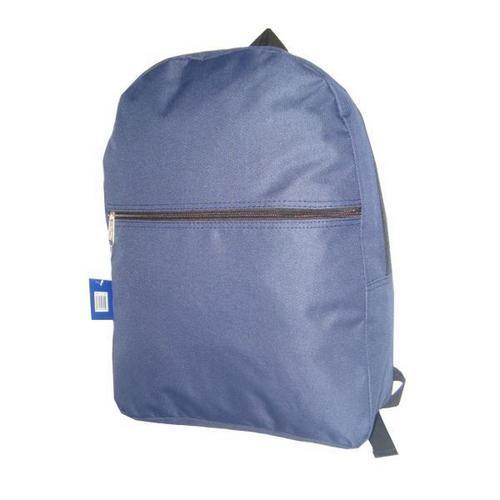 "Case of [50] 17"" Basic Navy Backpack"