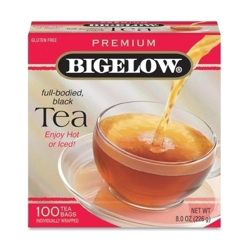 Case of [4] Bigelow Tea Company Ceylon Black Tea, Individual Wrapped, 100/BX