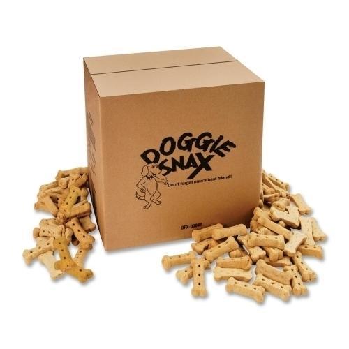 Case of [1] Office Snax Doggie Snax, 10lb., Box