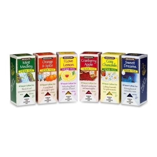 Case of [1] Bigelow Tea Company Herbal Teas-168/Count-6 Flavors
