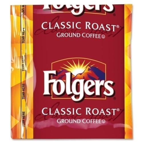 Case of [1] Folgers Coffee Classic Roast, Regular, 1.5 oz., 42BG/CT