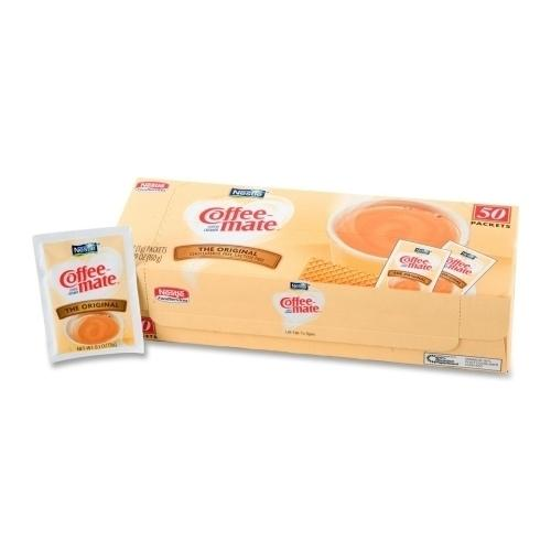 Case of [8] Nestle' USA Powdered Creamer, Original, 3 Gram Packets, 50/BX
