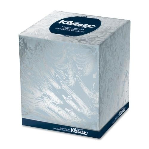 "Case of [10] Kimberly-Clark Facial Tissue, Pop-up, 8-7/16""x8-5/8"", 95/BX, White"