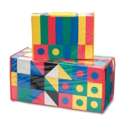 Case of [1] Chenille Kraft Company Wonderfoam Blocks, Non-Toxic, 152 Piece, Assorted